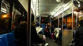 On-Board MTA New York City Bus Screeching 1996 Orion V 663 On The Q32 To Jackson Heights