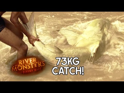 Catfish As Big As A Human | CATFISH | River Monsters