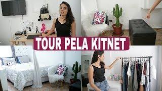TOUR PELA KITNET - ATUALIZADO   ANDRESSA GOUVEIA
