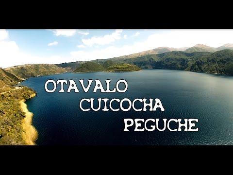 Paysages d'Equateur et des Andes – le marché d'Otavalo, Cuicocha et la cascade de Peguche