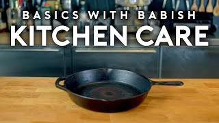 Download Kitchen Care | Basics with Babish Mp3 and Videos