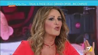 Siparietto tra Mauro Corona e Daniela Santanchè (FdI): 'Mandali a cagare', 'Ma sono un po' stitici'