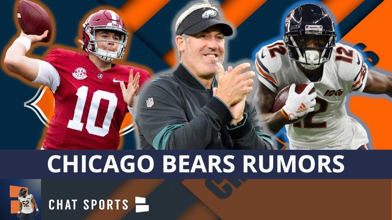 Chicago Bears Rumors: Hire Doug Pederson As OC? Allen Robinson Free Agency Rumors + Draft Mac Jones?