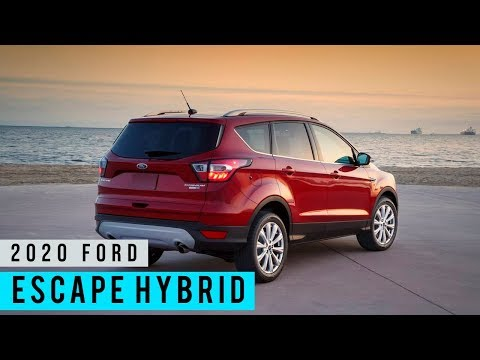 2020 Ford Escape Preview & Test Drive (On the Road)