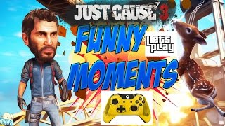 just cause 3 bug and funny moments