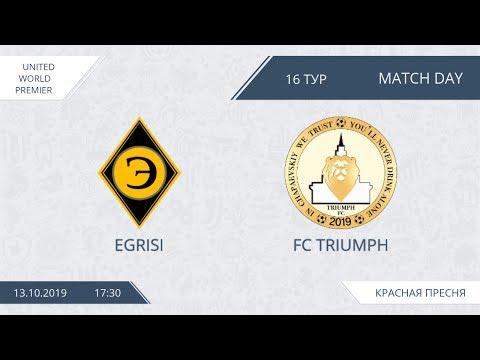 AFL19. United World. Premier. Day 16. Egrisi - FC Triumph