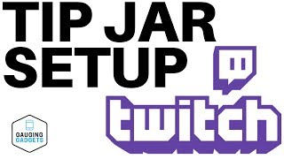 How To Setup A Tip Jar In OBS  - Twitch Tip Jar Tutorial