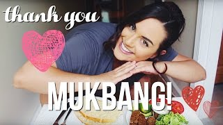 HUGE THANK YOU & MUKBANG // MoreSaltPlease