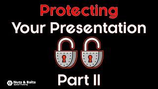 Protect a PowerPoint Presentation (Alternative Method)
