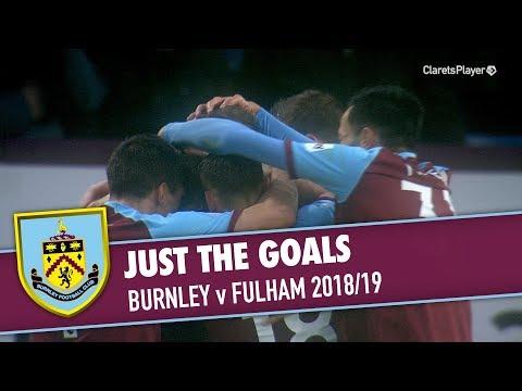 JUST THE GOALS | Burnley v Fulham 2018/19