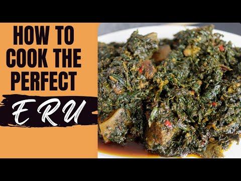 FUFU & ERU / RECETTE DE ERU-Cameroon cuisine.