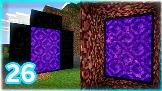 Sincronizando os PORTAIS   do NETHER | Minecraft PE