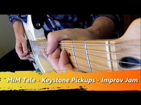 Bill Lawrence Keystone Telecaster Pickup Demo