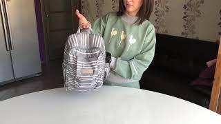 видео Рюкзак Be Sporty ju-ju-be Hello Kitty Dots & Stripes