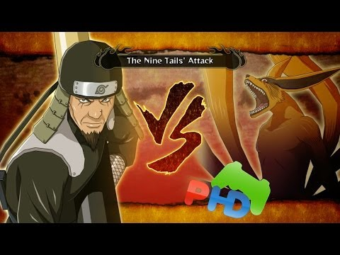 Sarutobi Vs Kyuubi - Naruto Ultimate Ninja Storm 3 Full Burst