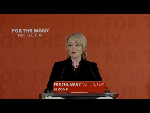 Jeremy Corbyn and Rebecca Long-Bailey | Industrial Strategy Launch