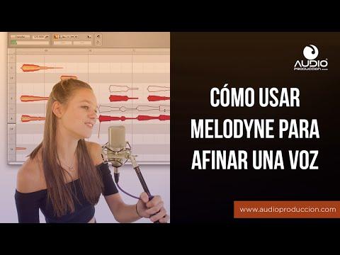 Cómo Usar Melodyne Para Afinar Una Voz