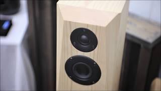 ヒノキオーディオ 試聴イベント 空気録音 真空管オーディオフェア2019 柔らかい檜だから出来る柔らかい響き ひのきスピーカー AudiFill