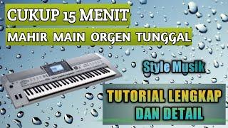 Cara bermain organ tunggal - Yamaha psr