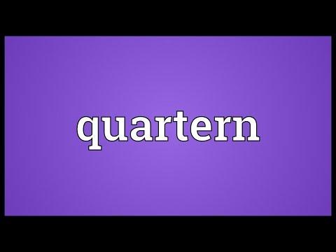 Header of quartern