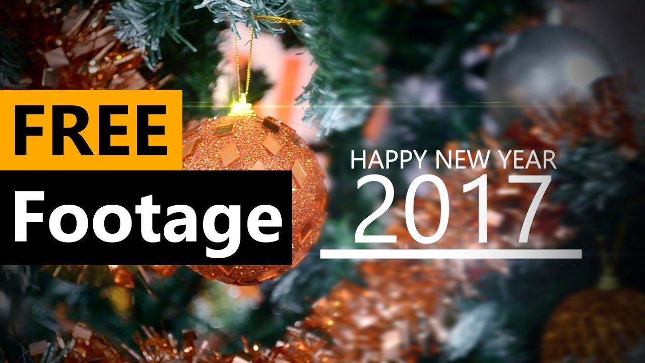 Happy New Year 2017 Animation - FREE Stock Video Footage [Download Full HD]