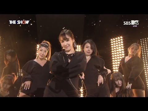 160517 [HD] Tiffany 티파니-Interview+I Just Wanna Dance+No.1 (1st Win)+Encore (Solo Debut) @ Th3 Sh0W