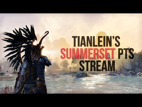 ESO Tianlein's Stream (4) - Summerset PTS - Exploring Summerset, Artaeum, new Houses and Motifs