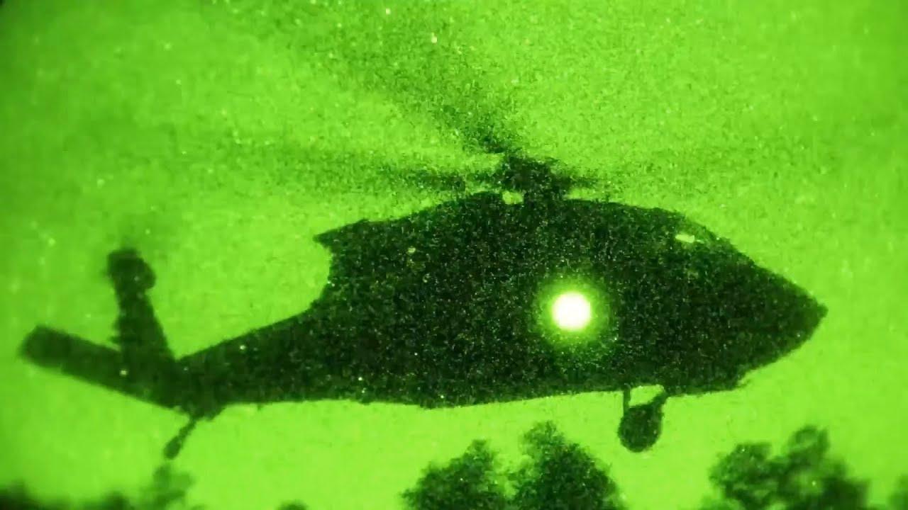 Soldiers Conduct Air Assault - Devil Storm 19