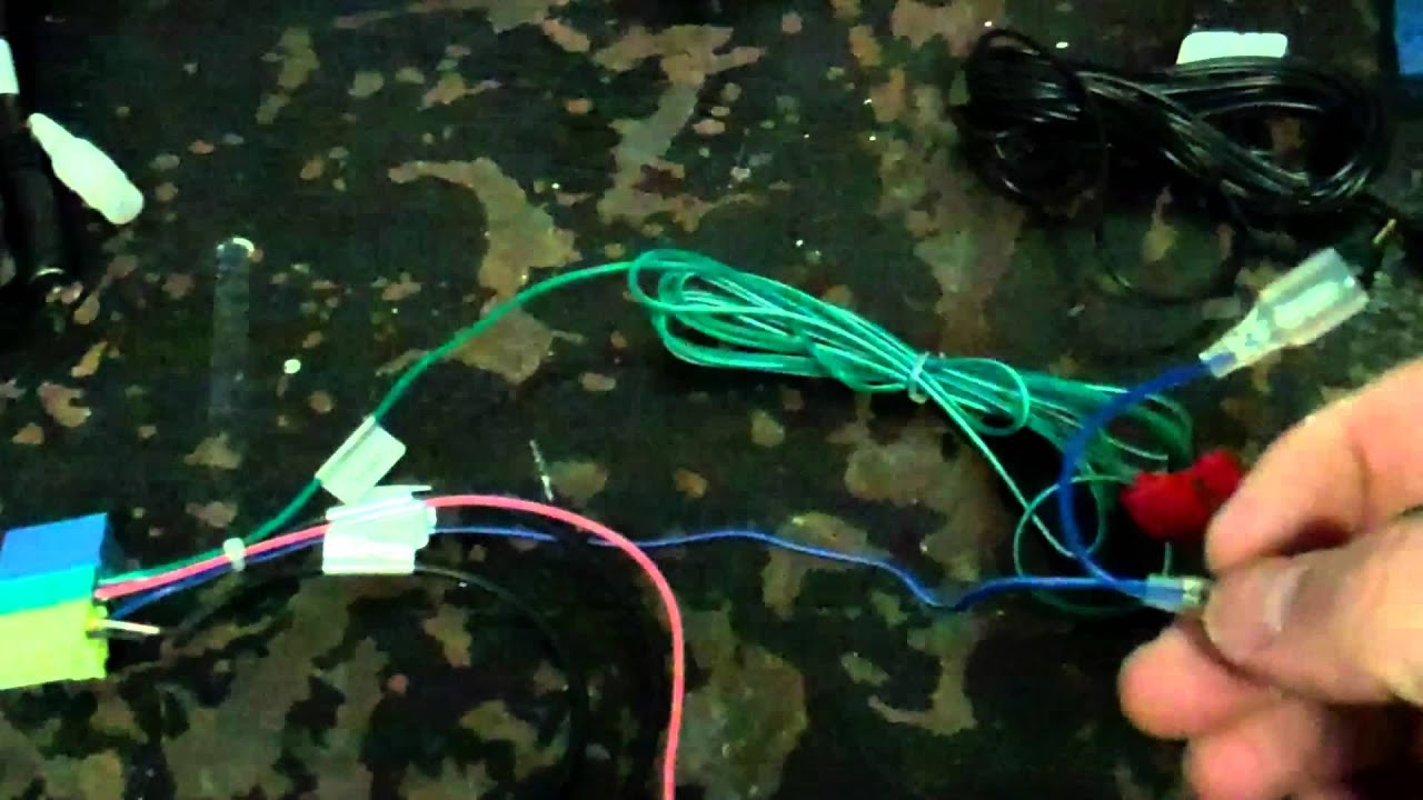 Wiring A Two Way Switch Diagram 1988 Ezgo Golf Cart Pioneer Appradio Emergency Brake Bypass - Youtube