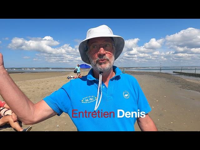 Pinasses à Voile Championnat du monde  Bassin d'Arcachon - Entretien Président de l'amicale Ep 01