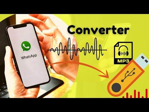 Convertendo audio whatsapp em mp3