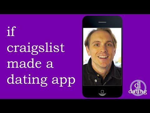 If Craigslist Made A Dating App