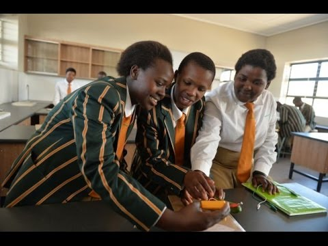 Children of the Mandela School of Science & Technology