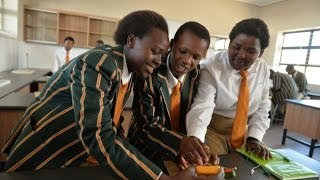 Children of the Mandela School of Science & Technology