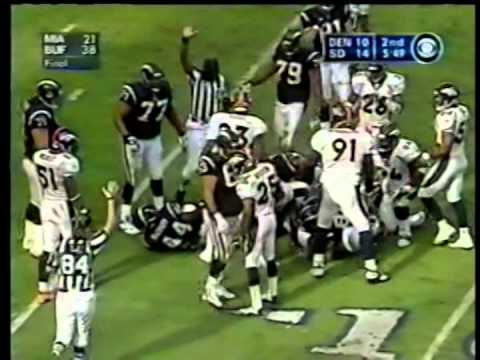 Broncos vs. Chargers, 2002