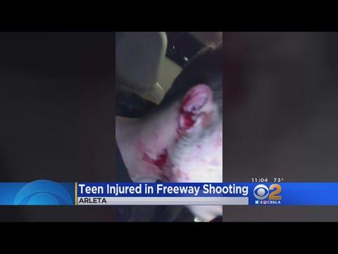 Siblings Shot At While Driving On 14 Freeway Near Santa Clarita
