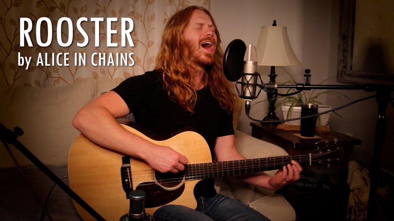 """""""Rooster"""" by Alice in Chains - Adam Pearce (Acoustic Cover)"""