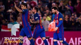 Se fue del Barcelona para triunfar y tiene mejores números que Messi y Suárez | Telemundo Deportes