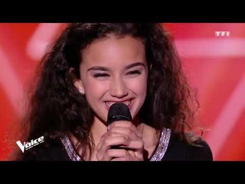 The voice : Lilya - «Les feuilles mortes» (Yves Montand) (saison 7)