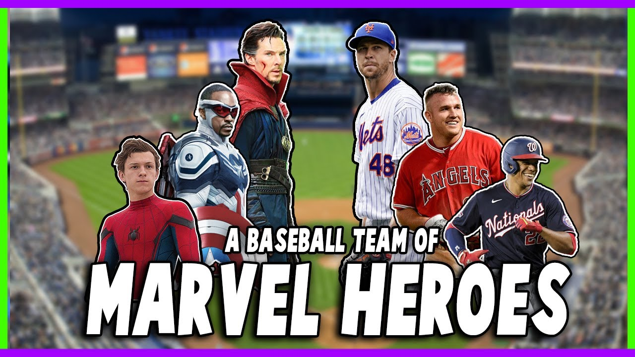 Constructing a Baseball Team with only MARVEL HEROES!