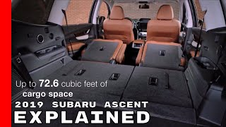 2019 Subaru Ascent Suv Explained