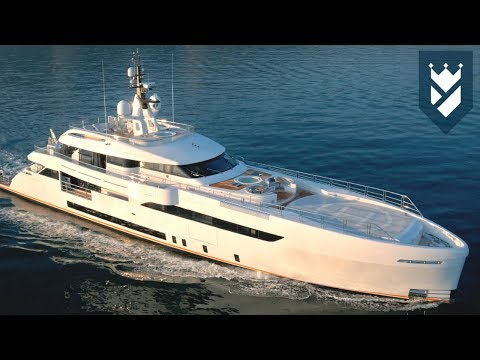 WIDER 165 SUPERYACHT WALK THROUGH VIDEO