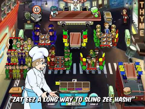 Exclusive Diner Dash 5: BOOM! Music Video