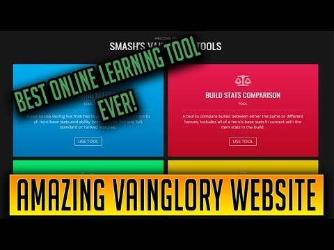 THE BEST VAINGLORY LEARNING TOOL EVER | VGFire Replacement?