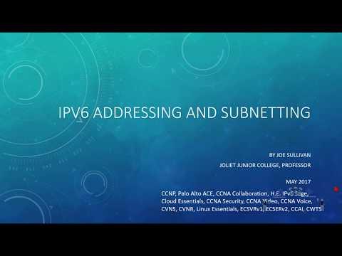 Understanding IPV6 Addressing and Subnetting