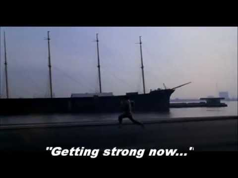 "Rocky 1 theme song ""Gonna fly now"" (Training scene with lyrics)"