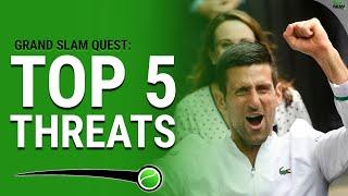 Top 5 Threats to Djokovic's Grand Slam Quest