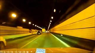 2014年10月24日午後、名神高速にて覆面パト・・・