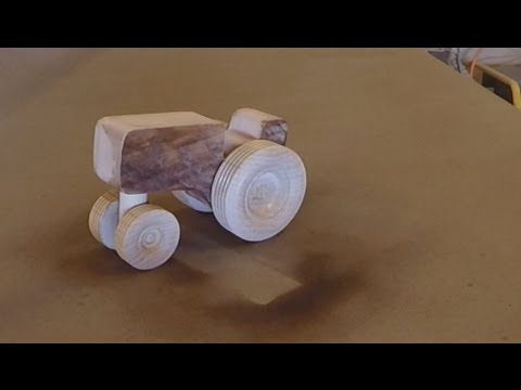 Tractor Wooden Toy Youtube