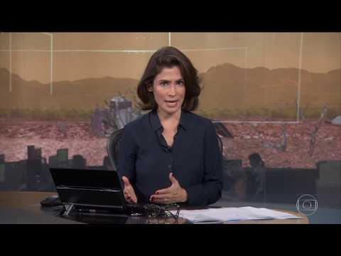 Rompimento da Barragem em Brumadinho-MG | Jornal Nacional 01/02/2019